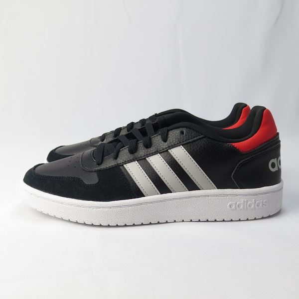 adidas HOOPS 2.0 休閒鞋 公司貨 EE7800 男款 黑【iSport愛運動】