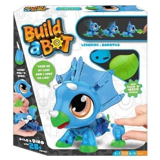 【 Build-a-Bot 】可愛機甲獸: 三角龍 / 正版公司貨 ╭★ JOYBUS玩具百貨