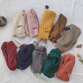 童裝2019冬款寶寶保暖洋氣圍巾韓國多色可愛兒童毛線圍巾年貨慶典 限時鉅惠