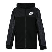 Nike Boys Hoodie 大童裝 黑 外套 連帽外套 運動 休閒 棉質 Advance 溫暖 兒童外套 AJ0117010