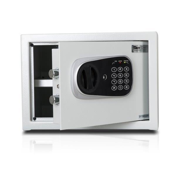 弘瀚科技@小型簡美型保險箱(25FD)金庫/防盜/電子式密碼鎖/保險櫃