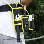 佳護 帆布工具包多功能腰包電工腰包五金維修掛包牛津布工具袋 深藏blue