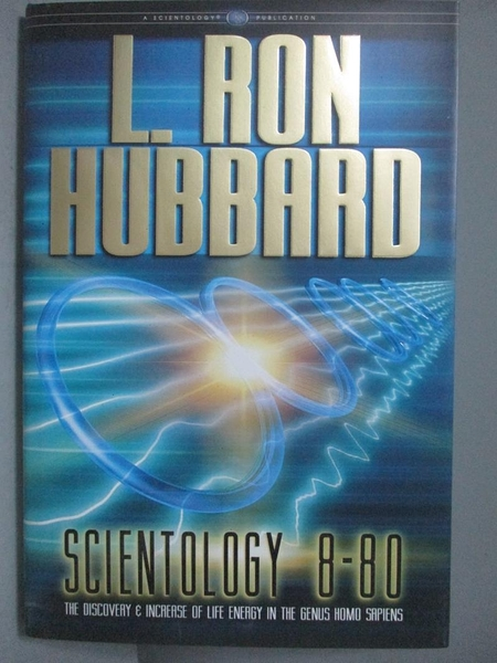 【書寶二手書T9/原文書_QHC】Scientology 8-80-The Discovery and Increase