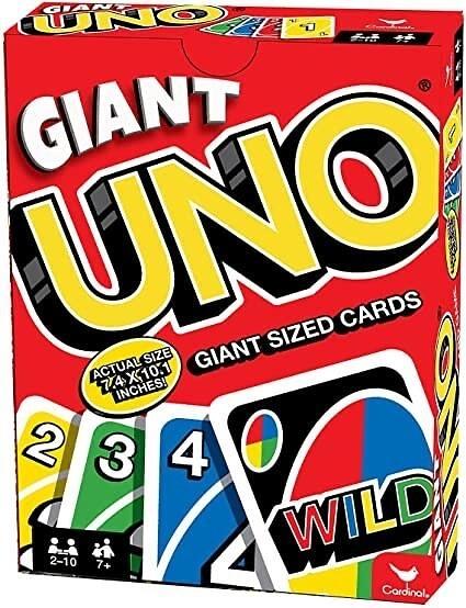 『高雄龐奇桌遊』 UNO GIANT UNO巨人遊戲卡 正版桌上遊戲專賣店