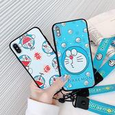 【SZ14】】可愛叮當貓帶掛繩 OPPO R17手機殼 R15 R11S R11 R9 R9S手機殼 R9S plus手機殼 R11S plus手機殼