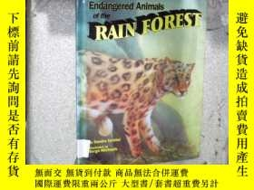 二手書博民逛書店ENDANGERED罕見ANIMALS OF THE RAIN