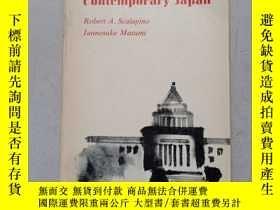 二手書博民逛書店PARTIES罕見ANd politics in contemporary japanY10445 rober