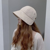 漁夫帽 漁夫帽女夏季日系韓版潮百搭時尚遮陽防曬防紫外線春季太陽帽子