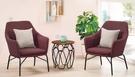【南洋風休閒傢俱】造型休閒椅系列 - 凱絲休閒單人沙發餐椅 洽談椅 中庭招待椅 CM716-2