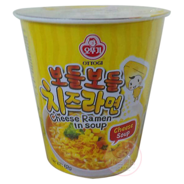 韓國不倒翁 起司風味湯杯麵(1杯裝)【小三美日】