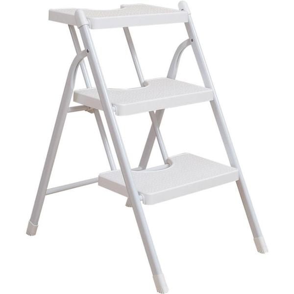 梯子家用摺疊加厚人字梯兩用爬梯扶梯室內登高梯閣樓三四步梯便攜NMS 小明同學