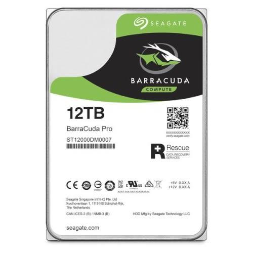 Seagate 希捷 新梭魚 BarraCuda Pro 12TB 3.5吋 內接式硬碟