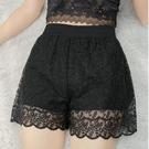 三分褲女外穿 百搭韓版蕾絲短褲潮夏天薄款 安全褲女防走光可外穿 快速出貨