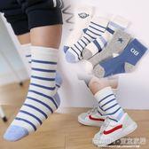 男童襪子  兒童襪子春秋薄款棉襪寶寶秋冬厚款棉襪男童女童中筒襪 宜室家居
