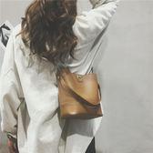 韓版手提水桶包單肩包斜挎包