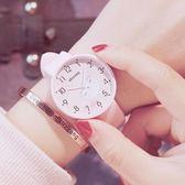兒童手錶女孩防水初中小學生女童可愛軟妹糖果色果凍小清新電子錶WY【年終慶典6折起】