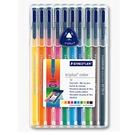 德國施德樓MS323SB10三角書寫彩繪筆