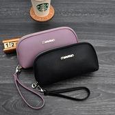 新款日韓手拿包女手抓包大容量零錢包時尚潮流貝殼包小包卡包「爆米花」