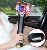 方向盤鎖汽車鎖防盜鎖汽車方向鎖盤具小車把鎖報警車頭鎖防身 法布蕾輕時尚igo