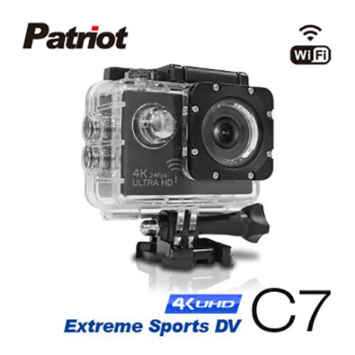 愛國者 C7 4K/1080P超高解析度 WiFi 機車防水型行車記錄器(含16G)