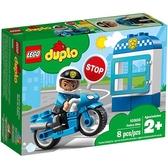 樂高積木 LEGO《 LT10900 》Duplo 得寶系列 - 警察摩托車╭★ JOYBUS玩具百貨