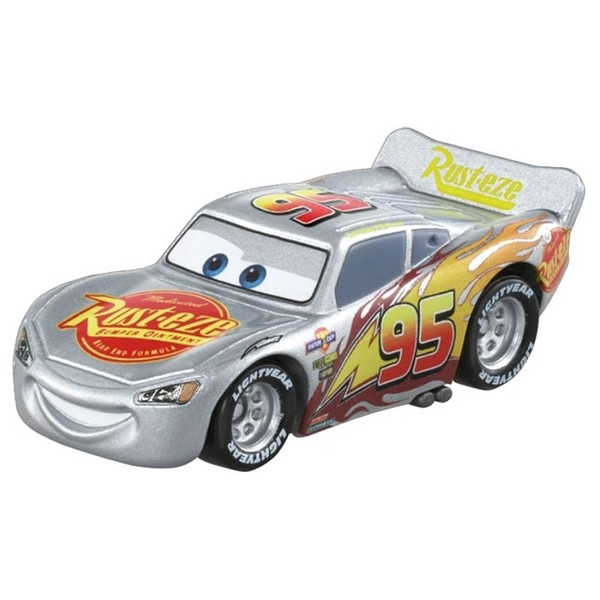 TOMICA CARS C-31 閃電麥坤(銀色勁速版)_ DS15640多美小汽車