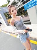 港味吊帶小背心女夏季裝韓版短款修身外穿學生內搭肩無袖打底上衣 道禾生活館