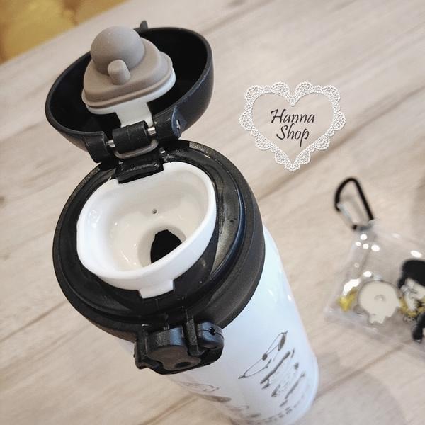 《花花創意会社》外流。史奴比大集合304不銹鋼保溫杯黑白撞色限定款【H6761】