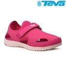 TEVA Kids 女童護趾水陸運動涼鞋...