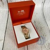BRAND楓月 COACH CA.89.7.34.0999S 玫瑰金 金色 水鑽 女錶 配件