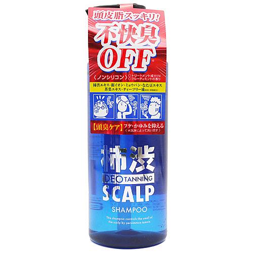【日本 DT SCALP】 沛渋 除臭去油洗髮精 400ml