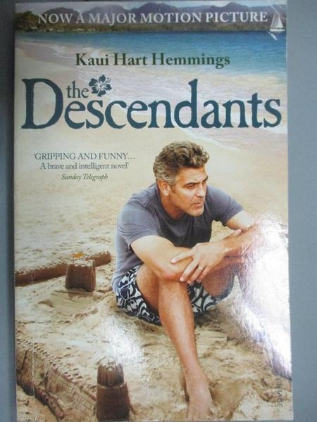 【書寶二手書T8/原文小說_CJG】The Descendants_Kaui Hart Hemmings