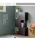 門櫃 收納【收納屋】米諾創意三層門櫃 & DIY組合傢俱