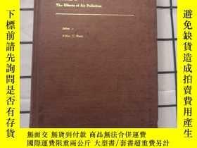 二手書博民逛書店英文版:Air罕見Pollution(空氣汙染)第二卷 77年第三版,精裝本Y378167 Arthur C.