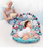 新生嬰兒腳踏鋼琴0-1歲健身架器寶寶3-6-12個月益智音樂兒童玩具igo 小確幸生活館