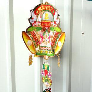 立體鈴鐺掛畫 聖誕節 裝飾 90克
