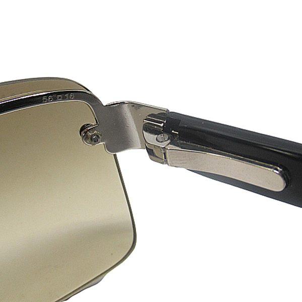 CHANEL 香奈兒 綠色漸層無邊框太陽眼鏡 【二手名牌BRAND OFF】