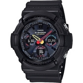 CASIO 卡西歐 G-SHOCK 太陽能 指針 運動 手錶(GAS-100BMC-1A)