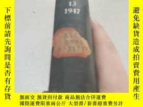 二手書博民逛書店THE罕見BOTANICAL REVIEW.13.1947(植物