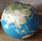 [衣林時尚] 充氣地球沙灘球 海灘球 巨大活動球(寬直徑約150cm) 訂製款