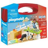 特價 playmobil 城市生活系列 動物醫院_ PM05653