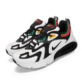 Nike 休閒鞋 Air Max 200 GS 白 黑 女鞋 大童鞋 運動鞋 【PUMP306】 AT5627-100