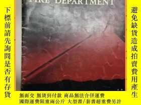 二手書博民逛書店英文書罕見los angeles city fire department 洛杉磯市消防局Y16354 詳情見