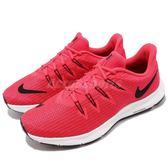 Nike 慢跑鞋 Wmns Quest 紅 黑 基本款 女鞋 舒適緩震 運動鞋【PUMP306】 AA7412-601