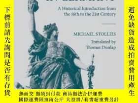 二手書博民逛書店Public罕見Law In GermanyY364682 Michael Stolleis Oup Oxfo