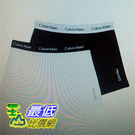 [COSCO代購 如果售完謹致歉意] Calvin Klein 男平口彈性內褲2入組 黑&白 (多種尺寸選擇) _W1079493