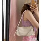 尼龍腋下包女法國質感流行包包2020新款潮網紅法棍包錬條斜挎包 3C優購