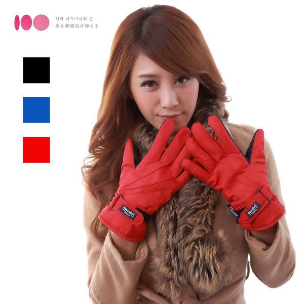 【3M】女用防風防潑水止滑手套(三色可選)