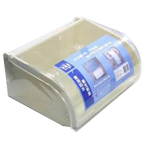 雙用防水衛生紙盒12.3*25*21cm【愛買】