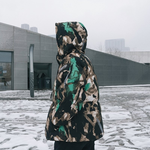 FINDSENSE品牌2018 新款 韓國  長袖  潮流上衣 兩面穿 大學生